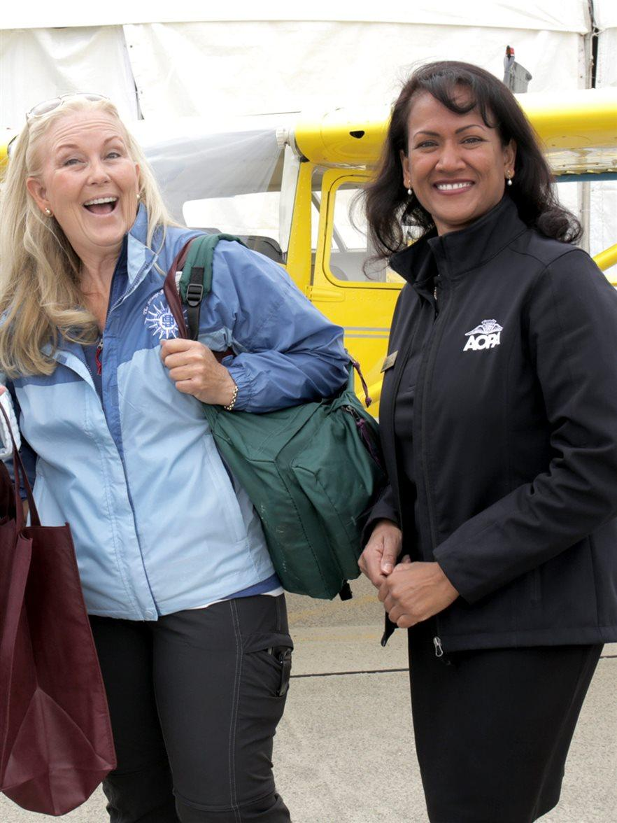AOPA Ambassador with Members